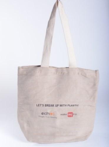 Printed Biodegradable Jute Bags