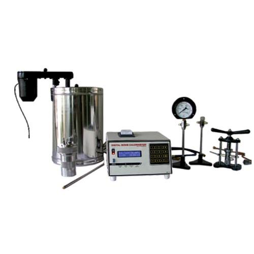 Automatic Microprocessor Digital Bomb Calorimeter