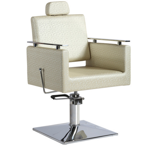 Creamy Parlour Chair Without Footrest
