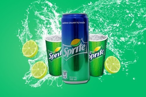 Sprite Soda Energy Drink 330 Ml Can