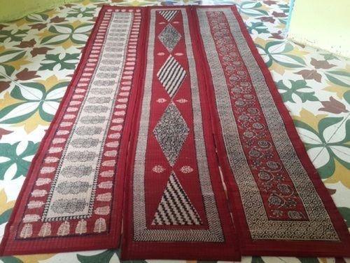 Red And White Hall Runner Carpet