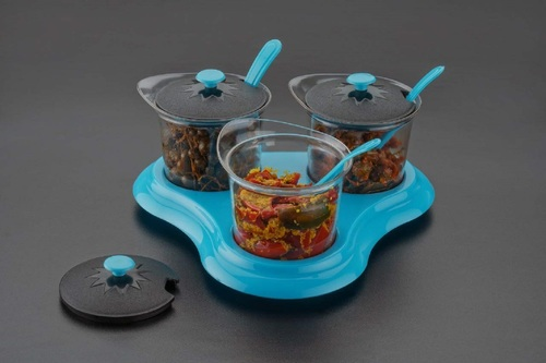 3 Piece Pickle Container