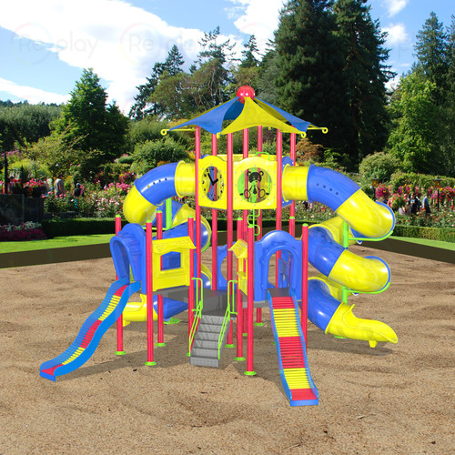 Outdoor Playground Mega Tower Tp 09 Mt