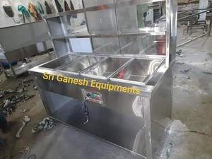 Four Pots Electric Stainless Steel Bain Marie