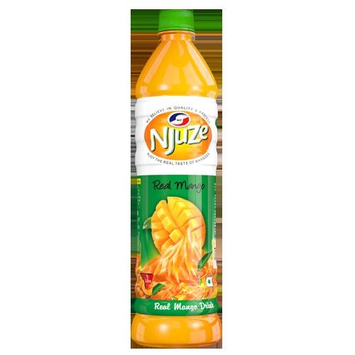 Njuze Mango Fruit Drink Certifications: Fssai License No.: 10016041000981