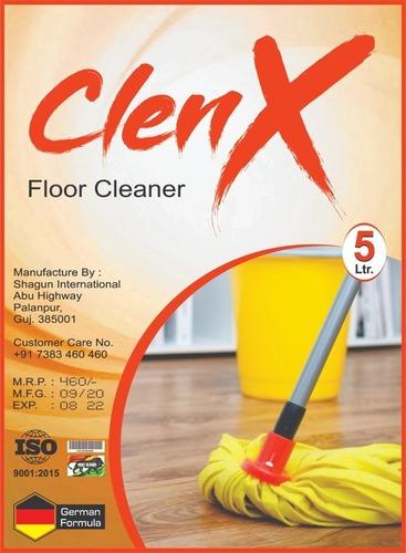 Liquid Floor Cleaner (Clenx) Certifications: Iso2009