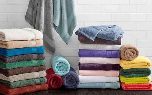 Soft Cotton Bath Towels