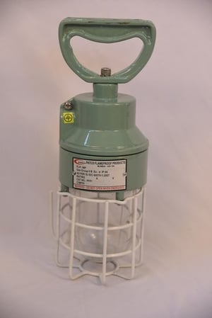 Flameproof Hand Lamp Fitting