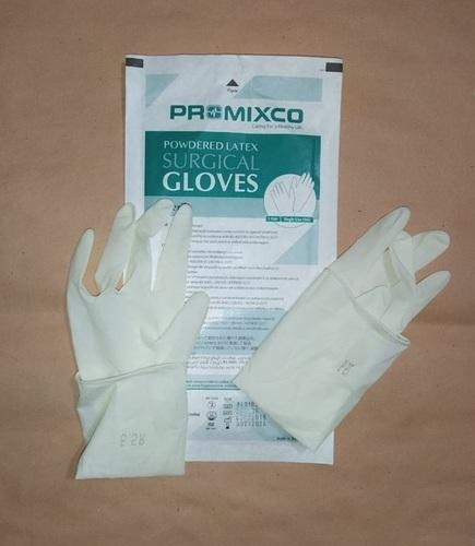 White Nitrile Non Powdered Gloves Extra Large Size