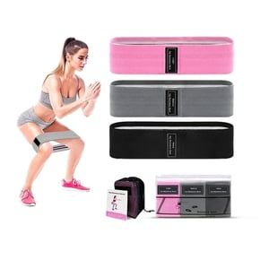 Women and Men Stretch Exercise Bands