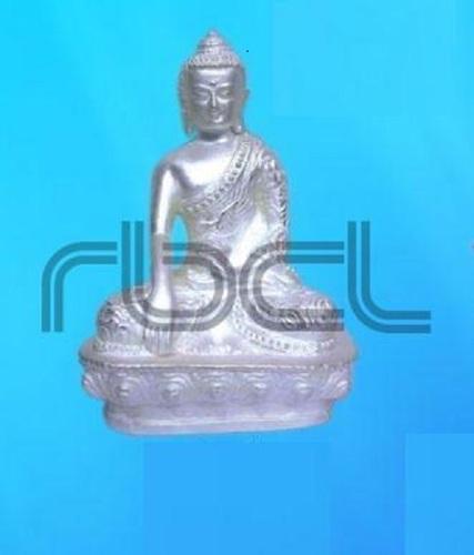 Durable 999 Silver Buddha Statue