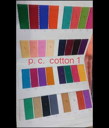 200 Colour Dyed Cotton Fabric