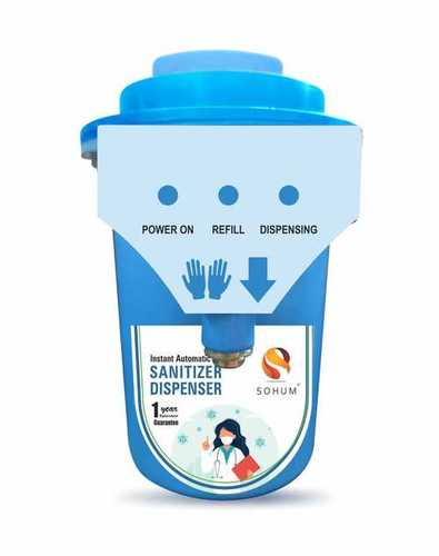 Sohum Instant Automatic Sanitizer And Soap Dispenser