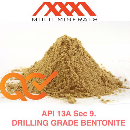 Bentonite Powder - Api Certifications: Iso 9001:2015 Certificate D&B Certificate