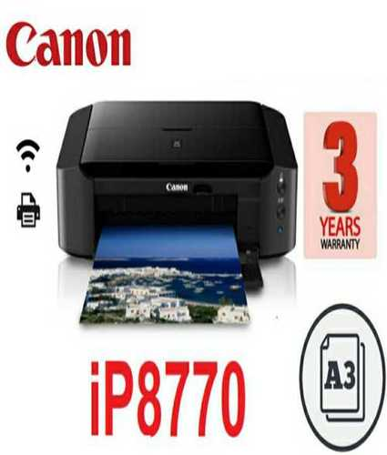 Canon iP8770 Colour WiFi Single Function Inkjet Printer