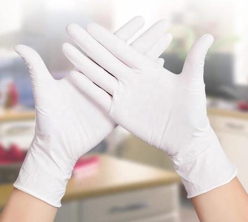 Disposable Plain White Latex Gloves Certifications: Fda