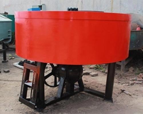 Mild Steel Pan Concrete Mixer