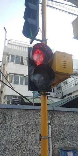 Solar LED Blinker For Road Traffic