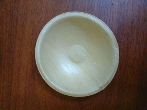 5 Inch Round Areca Leaf Bowl