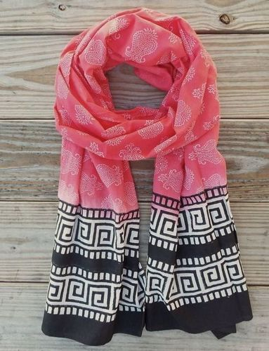 Women Scarf With Floral Print
