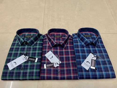 Chequed Men Checked Formal Shirt Age Group: 18-40
