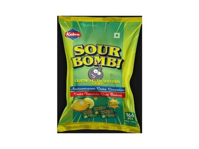 Various Flavors Sour Candy
