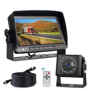 Reverse Camera Set For Vehicles With Monitor