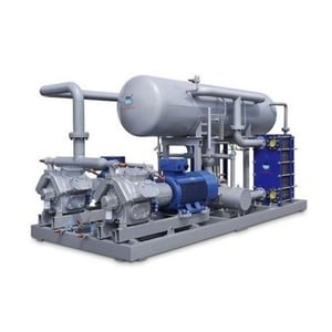 Stainless Steel Milk Chilling Plant