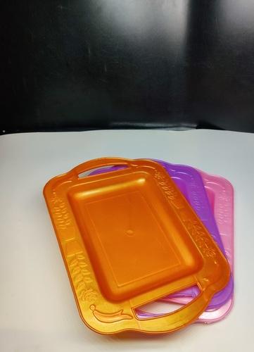 Plastic Rectangular Shape Tray