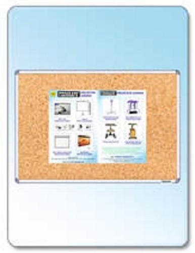 Square /Rectangular Cork Covered Notice Board