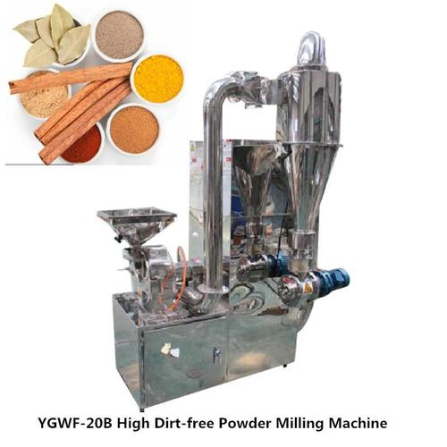 Dirt Free Vegetable Fruit Herb Powder Grinding Machine