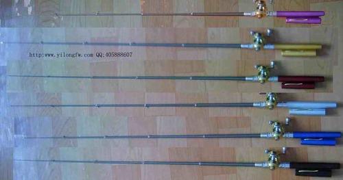 Portable Pen Fishing Rod