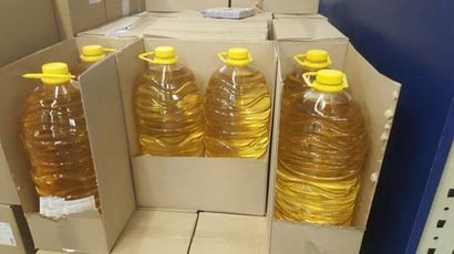 Packed Refined Sunflower Oil Grade: A