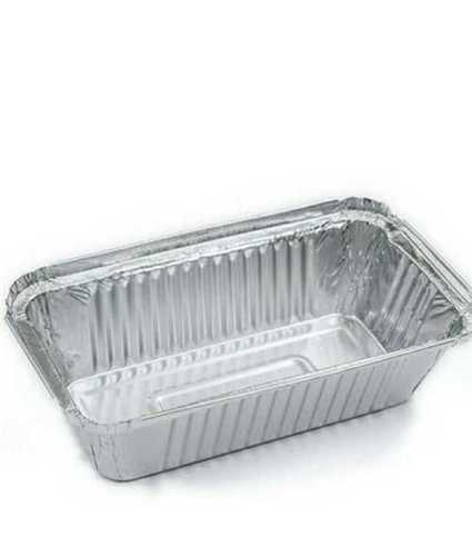 Plain Aluminum Food Container