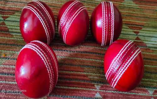 Natural Pure Leather Cricket Ball