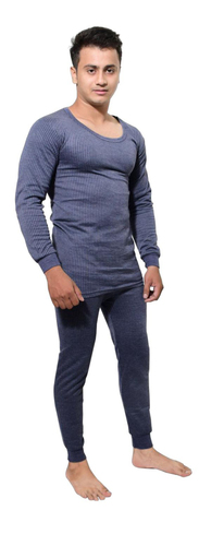 Plain Skin Friendly Men Thermal Wear