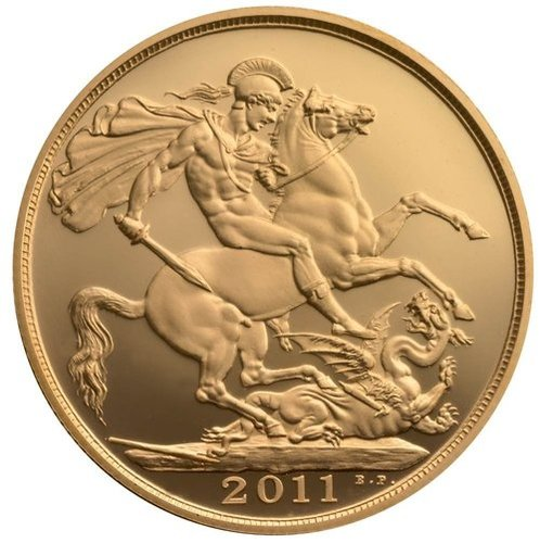 Pure Gold Round Coin