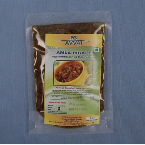 Packed Amla Pickle