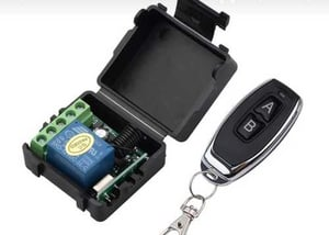 DC 12V 1CH Channel Wireless RF Remote Control Switch Transmitter Receiver
