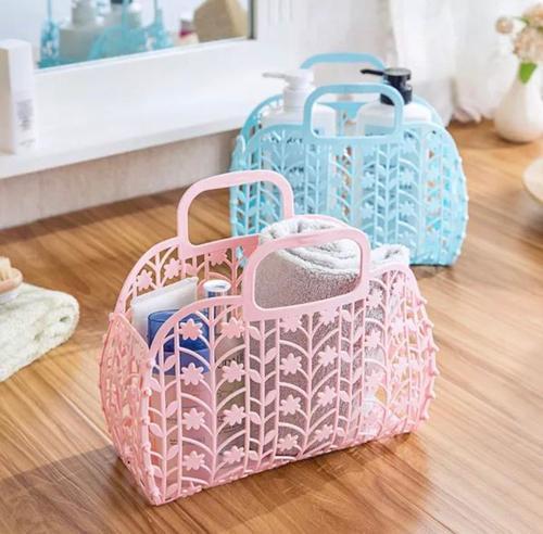 Plastic Carry Bag Basket
