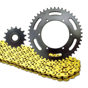 520 Motorcycle Chain and Sprockets Set Kit