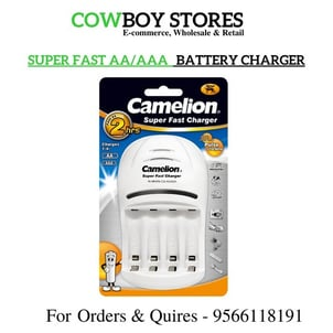 Super Fast Camelion AA And AAA Battery Charger