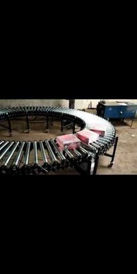 Rounded Table Roller Conveyor