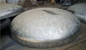 Non Breakable Dish End for Tanks