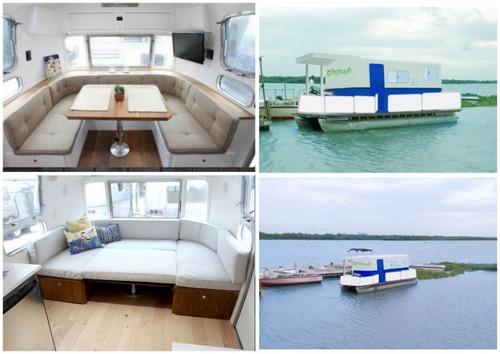 Comfortable Luxury House Boat