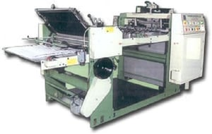 High Speed Paper Counting and Folding Machine