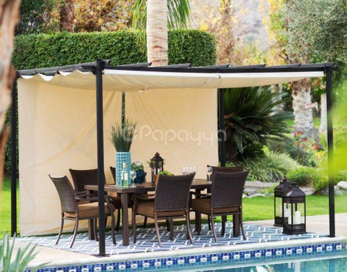 Wind And Water Resistance Pergola