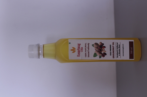 Groundnut Oil (Cold Pressed)