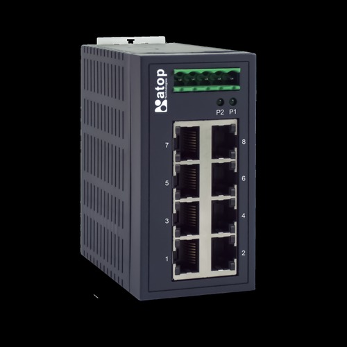 Atop Ehg2308 8-Port Industrial Unmanaged Switch