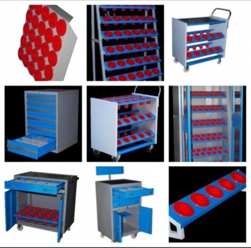 CNC Tool Storage Trolley's And Cabinets